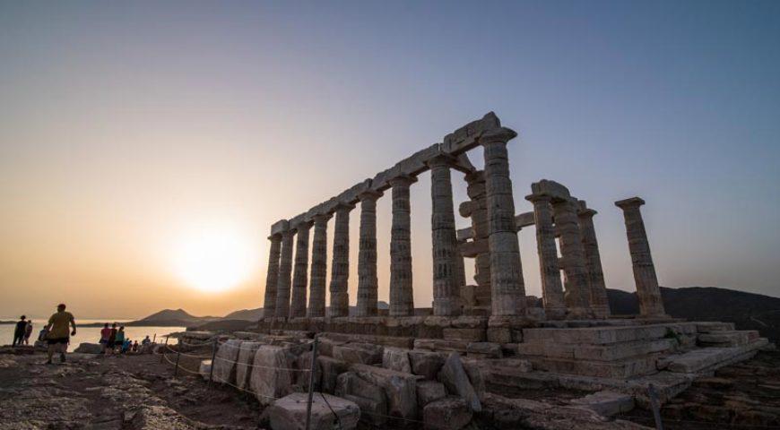 The temple of Poseidon