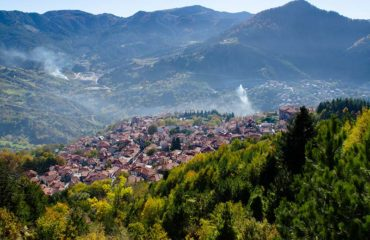 Metsovo view from the mountain