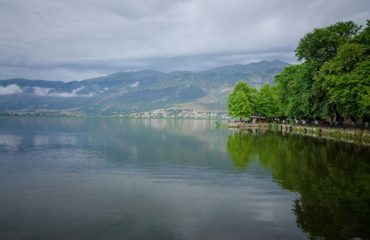 Pamvotida lake at Ioannina