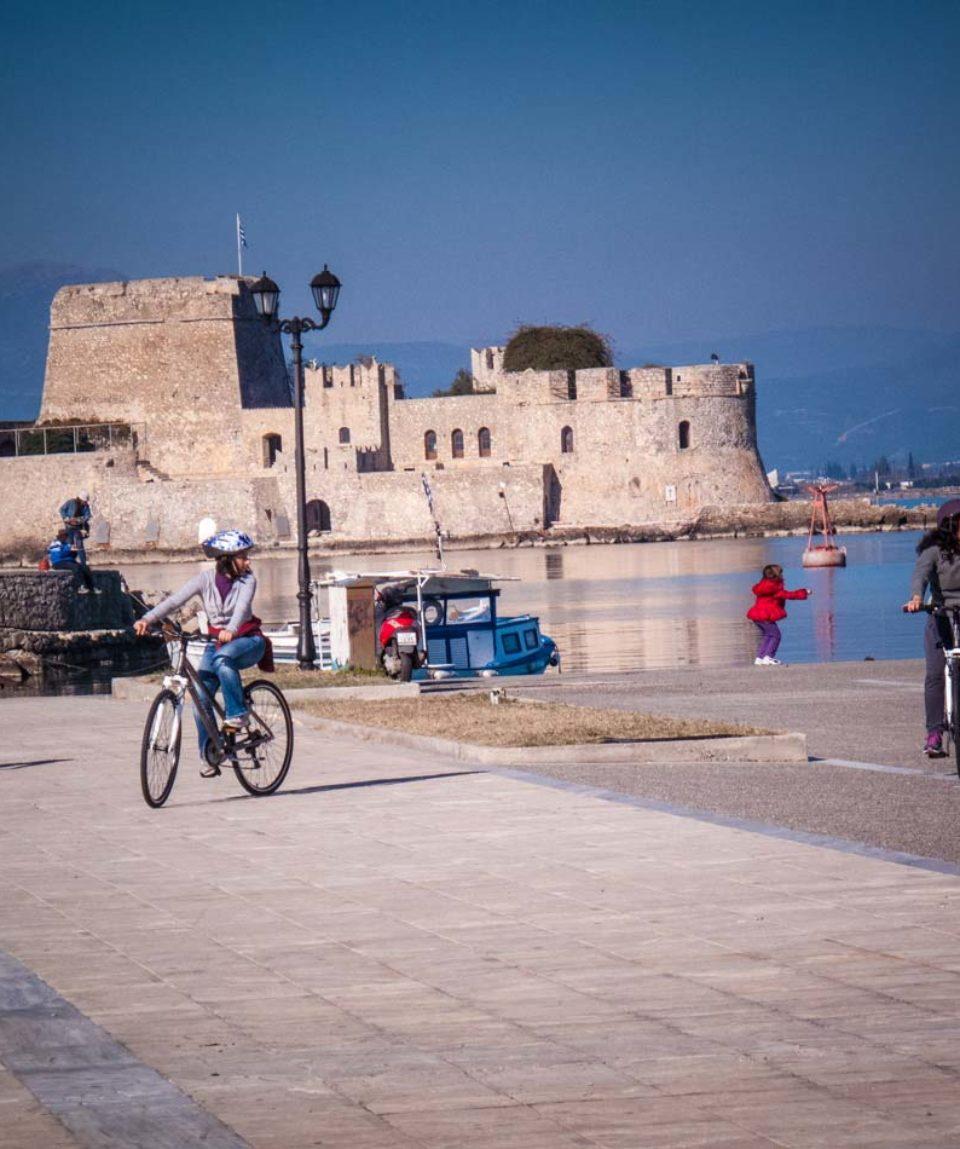 Nafplio 1 day bike tour