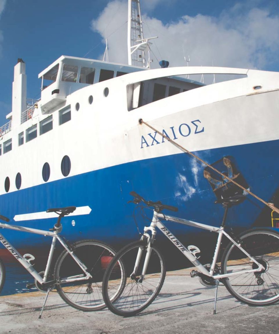 Aegina Bike tour one day