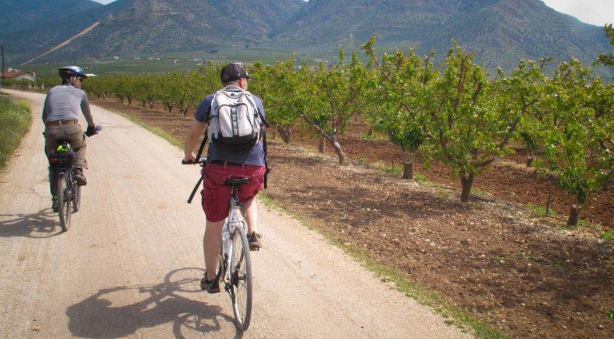 Nafplio bike tour
