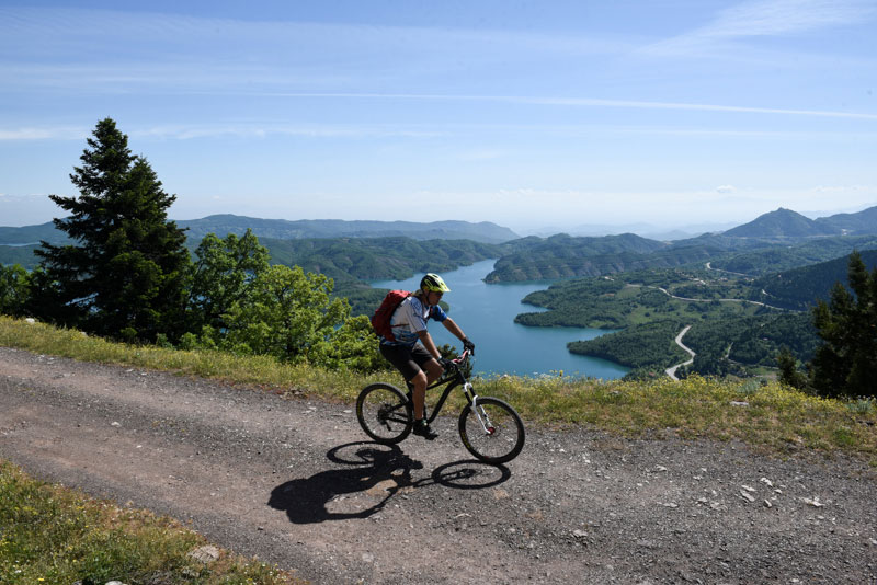 MTB tour Plastira Lake & Karpenisi
