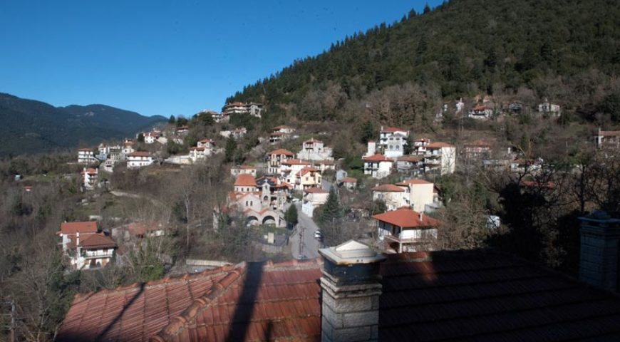 Village at karpenisi