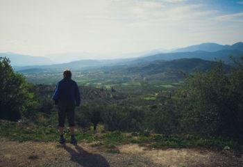 Amazing view from Mycenae
