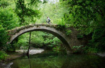 A traditional arch bridge at Zagori